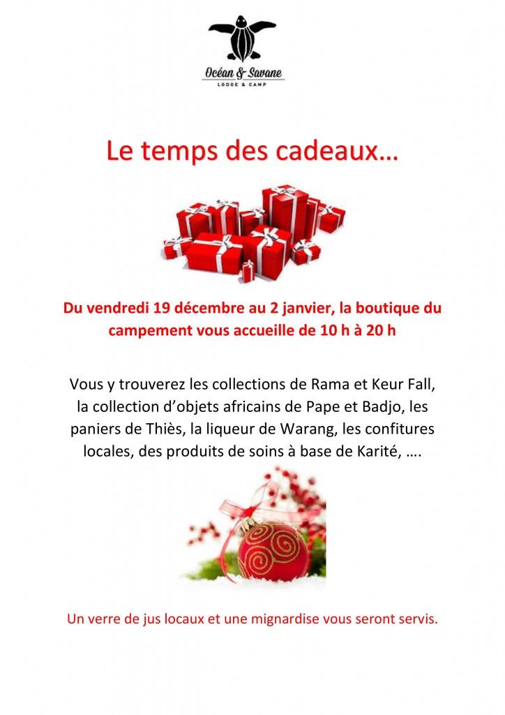 Cadeaux Boutique Océan & Savane Saint Louis Sénégal